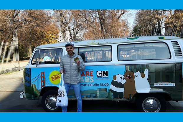 Truck on Tour Cartoon Network - Guerrilla Marketing
