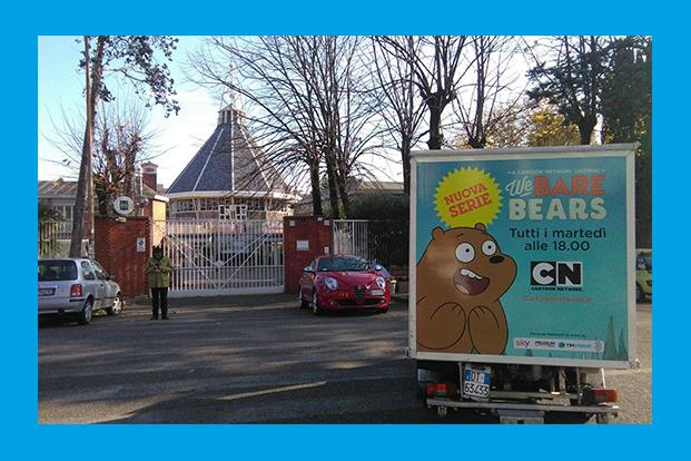 Truck on Tour Cartoon Network - Guerrilla Marketing