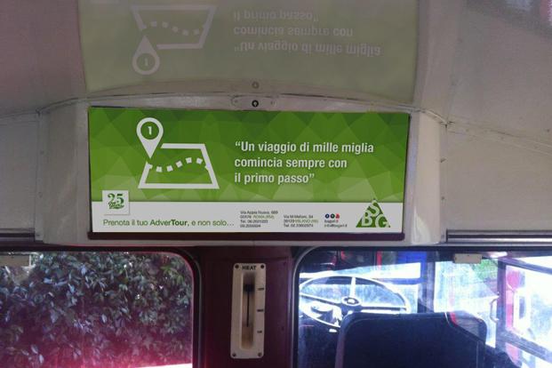 AdverTour BSG London Bus - Guerrilla Marketing