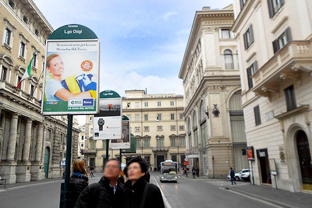 Fermata Bus - Bcc Roma