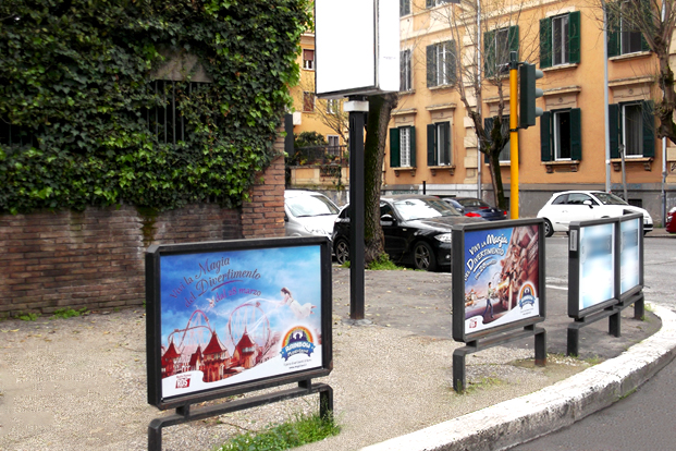 Parapedonali - Magic Land Roma