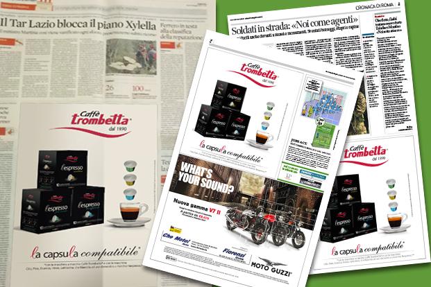 Stampa - Caffè Trombetta Roma