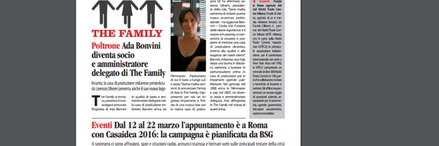 Dal 12 al 22 marzo l'appuntamento è a Roma con Casaidea 2016: la campagna è pianificata da BSG