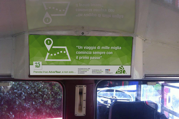 AdverTour BSG London Bus - Guerrilla Marketing