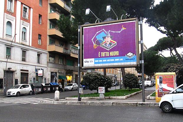 Affissioni - Boomerang Roma