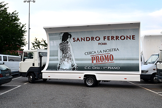 Dinamica - Camion vela Orio al Serio