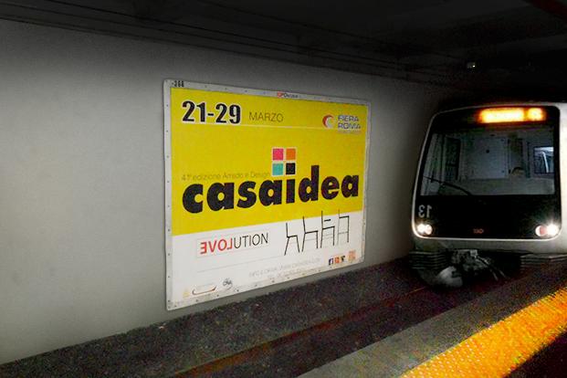 Metro - Casaidea 2015 Roma