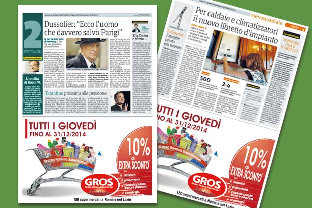 Stampa - GROS Roma