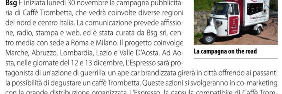 Caffè Trombetta on the road