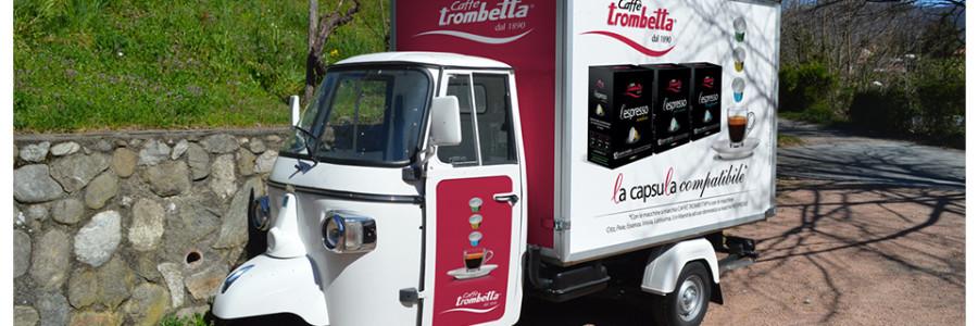 L'espresso di Caffè Trombetta in tour