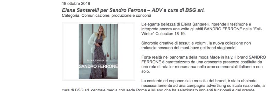 MEDIAKEY. TV | BSG PER SANDRO FERRONE