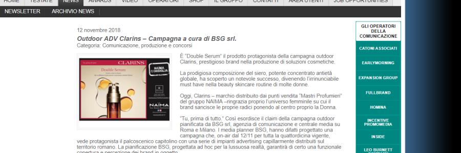 BSG Per NAIMA – Campagna CLARINS